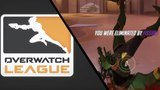 Fissure insane Winston pressure against Agilities Pharah [Overwatch League]