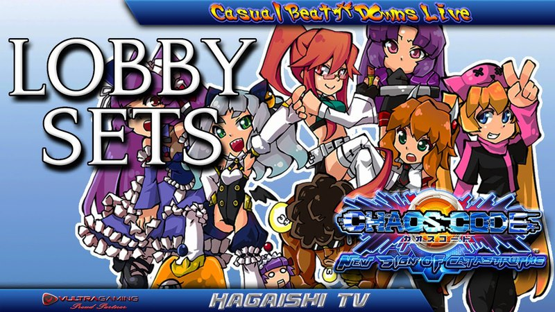 HTV LIVE Chaos Code: New Sign Of Catastrophe Lobby Sets