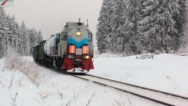 [RZD] TEM18DM-328, Dobyvalovo — Valday sterch