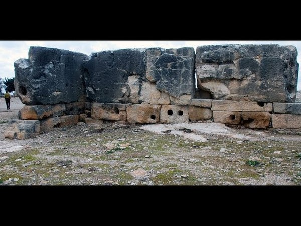 Megalithic blocks on the Sanctuary of Aphrodite at Palaepaphos Cyprus