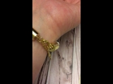 Нежный браслет из белой замши