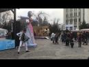 Аккордеонист - виртуоз на улицах города! Красная 5 / Масленица