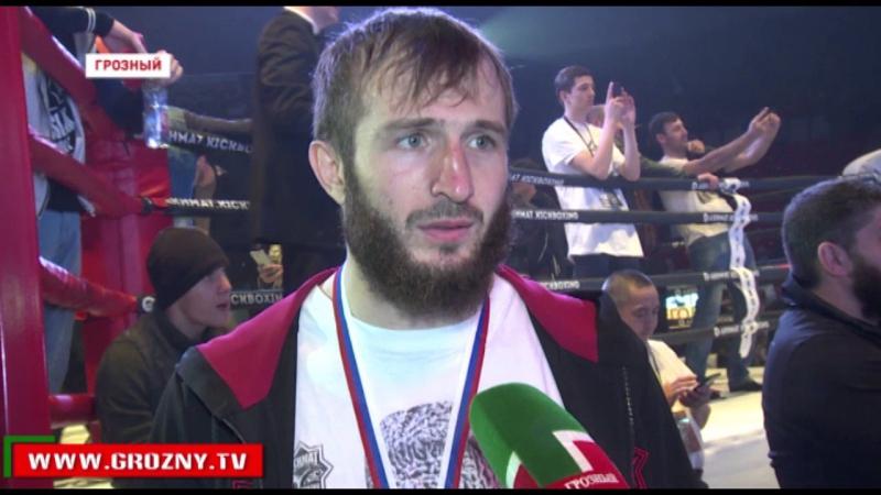 В Грозном состоялись последние финальные бои Чемпионата и Первенства России по кикбоксингу