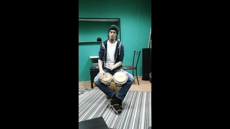 Андрей Мишенцев этно барабаны урок перкуссии февраль 2018