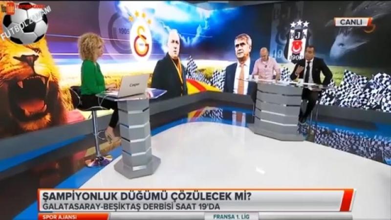 Spor Ajansı TEK PARÇA Galatasaray - Beşiktaş Derbisi Yorumları