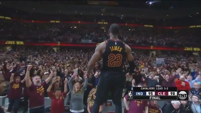 LeBron James Hits Game Winning Buzzer Beater To Defeat Pacers! | Cavaliers vs Pacers Game 5 |