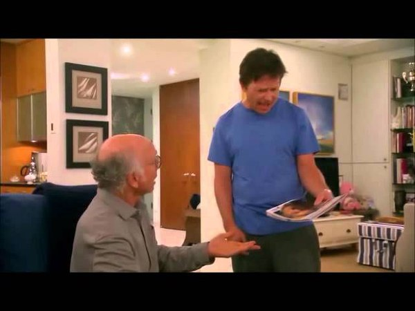 Curb Your Enthusiasm - Larry and Michael J. Fox (Parkinson's...) - Season 8 Ep. 10