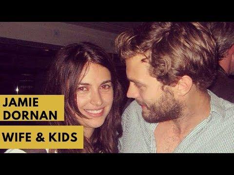 Jamie Dornan Wife and Kids 2018 - Dulcie Dornan , Elva Dornan