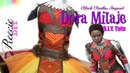 D.I.Y. Dora Milaje Costume Tutu Dress - Black Panther Inspired Costume