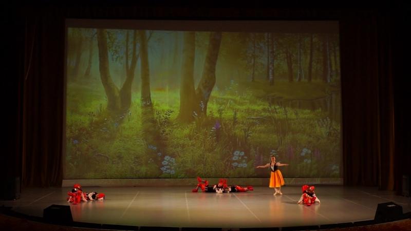 26 Образцовый детский коллектив Ансамбль классического танца Снежинка Белоснежка и 7 гномов