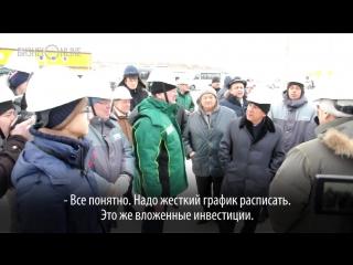 «Мы кредиты будем выплачивать, а вы — прибыль получать»: Рустам Минниханов показал школьнику Амилю завод ТАНЕКО