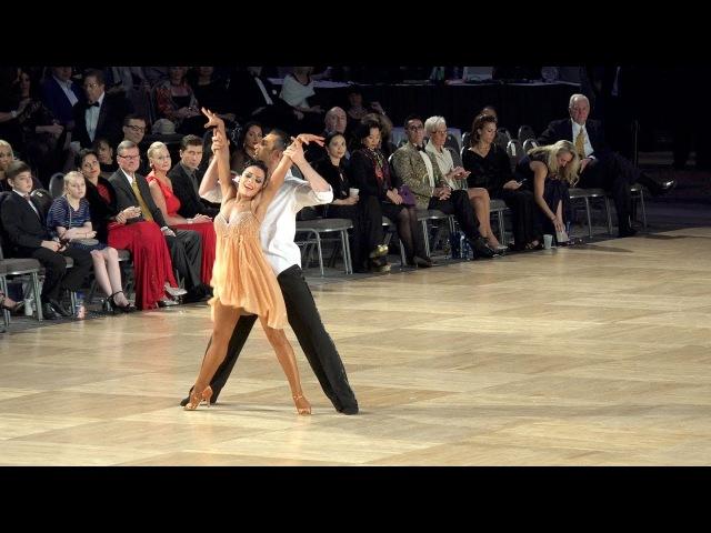 2016 Ohio Star Ball - Hayk Balasanyan Emilia Poghosyan - International Latin Show Dance - 4K