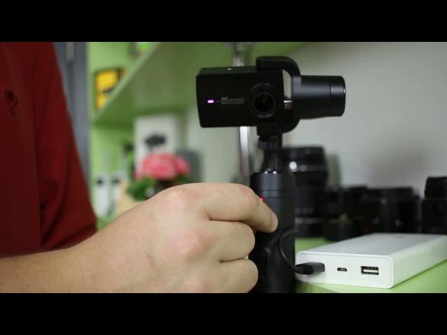 ПОДРОБНЫЙ ОБЗОР Xiaomi mijia 3-axis Stabilization Handheld Gimbal ► 3-осевой стабилизатор СЯОМИ