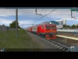 Trainz 2012: КМЖД (Курганинск-Овесянки) (ускорено в 6 раз)