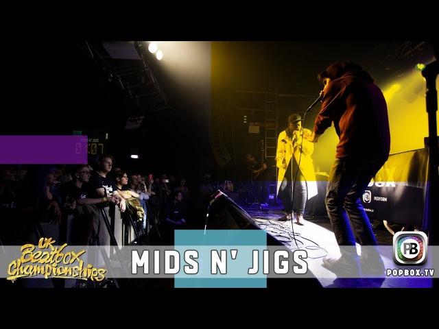 Mids n' Jigs | Team Elimination | 2017 UK Beatbox Championships