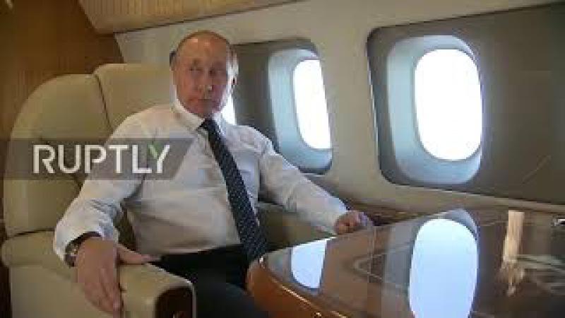 Международное воздушное пространство: военные самолеты сопровождают Путина на ...