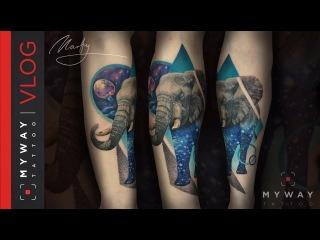 Разработали новый стиль тату! История одной татуировки. Штепс!