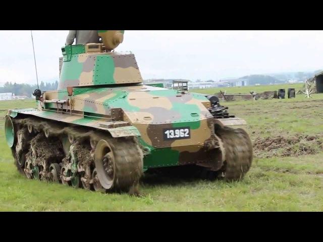 Tank Škoda LT vz 35 Dny NATO Days 2013