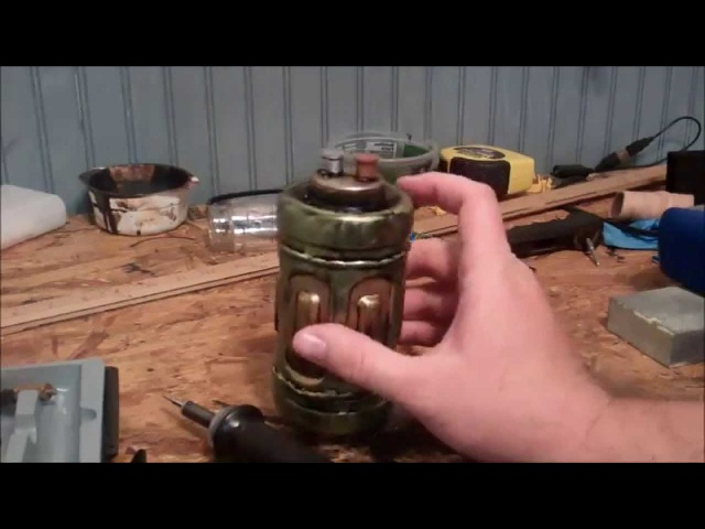 Making Scifi Steampunk Props from Plastic Bottles (Part 2)