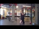 Доношение Гиря, пред тобой... 72кг. Попытка на 80кг. Muscle swing on a knee two hands anyhow-72kg