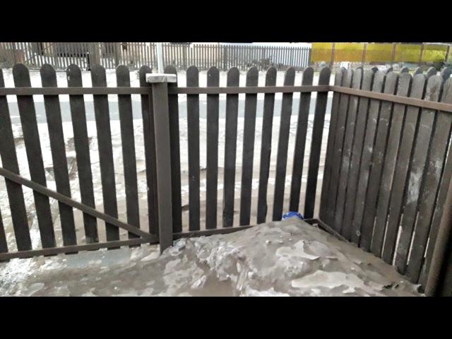 Оренбург, 25 января 2018г, после трех дней песчанной бури.
