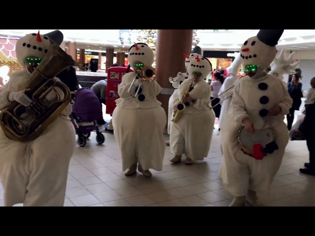 Tinto Brass Band Orchestra of Snowmen