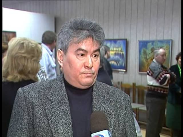 Хабарлар алғыда ГТРК Хакасия г Абакан 24 декабря 2005 Персональная выставка Алексея Ултургашева в Минусинске