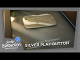 Silver Play Button for the Junior Eurovision YouTube Channel!