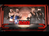 SBW Raw - The Wolf Hunters vs Local Wrestlers Tag Team match