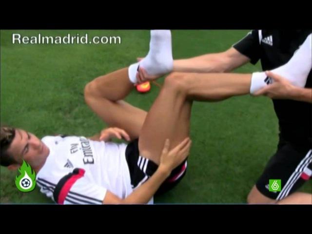 Recuperación Cristiano Ronaldo tras su lesión en la rodilla. Listo para Real Madrid 14/15