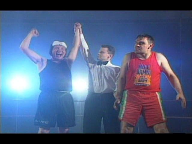 Бокс для геев. Олимпиада для педиков в Сочи!