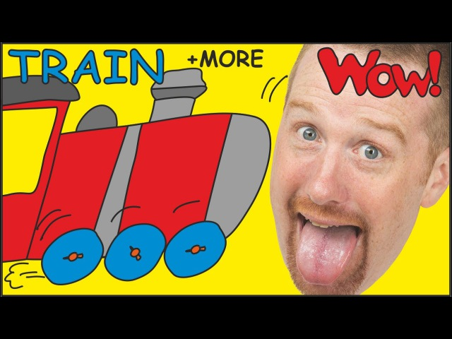 Steve´s Bike, Car and Train | Stories from Steve and Maggie | Learn English by Wow English TV