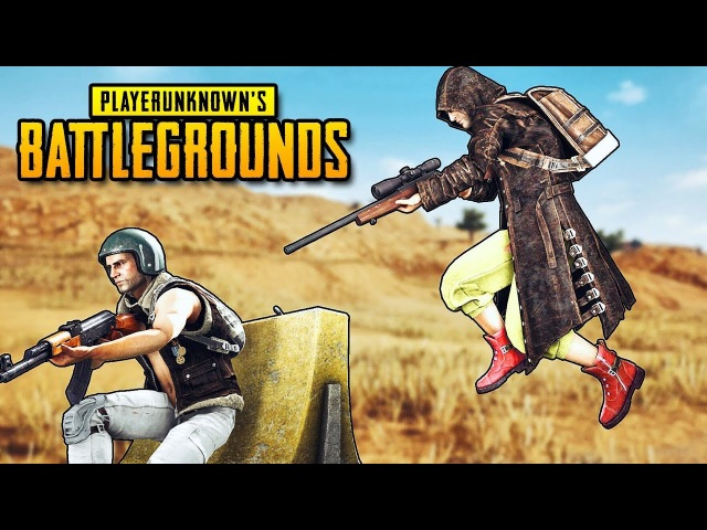 НИНДЗЯ СНАЙПЕР из Пекадо идет в ТОП-1 В PLAYERUNKNOWN'S BATTLEGROUNDS (PUBG)