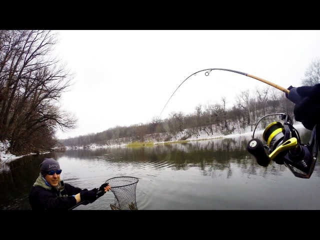 Такой Рыбалки на Спиннинг Ранней Весной я не Ожидал Сплав по Реке Северский Донец