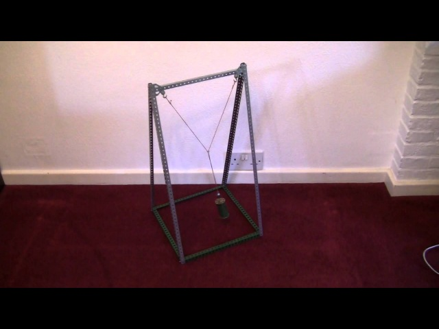 Meccano Blackburn Pendulum by Les Pook