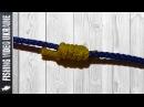 Простой стопорный узел на основе узла типа Клинч Clinch stopper knot HD