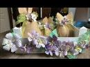 Diy how to make Easter box gift come riciclare una cassetta della frutta sacchetti di juta coniglio