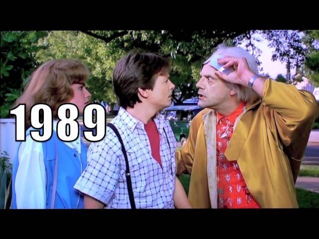 Back To The Future Part 1 1985 vs Part 2 1989 Comparison