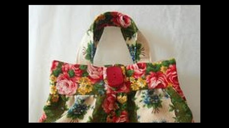 How to make simple hand bag at home