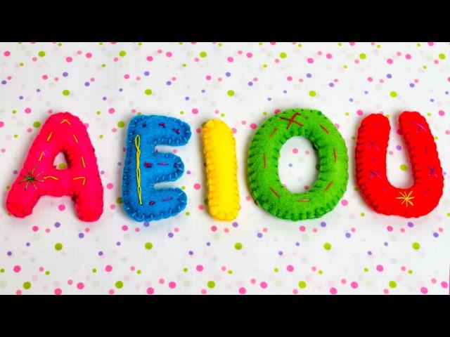 Las Vocales Español - A E I O U - Videos Educativos para Niños ♫ Divertido para aprender