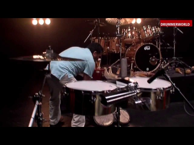 Alex Acuña: The Rhythm Collector: Around the World with different Instruments...
