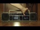 Ностальгия. Советский двухкассетник. Три фрагмента песен на кассетах из конца 80-х начала 90-х.