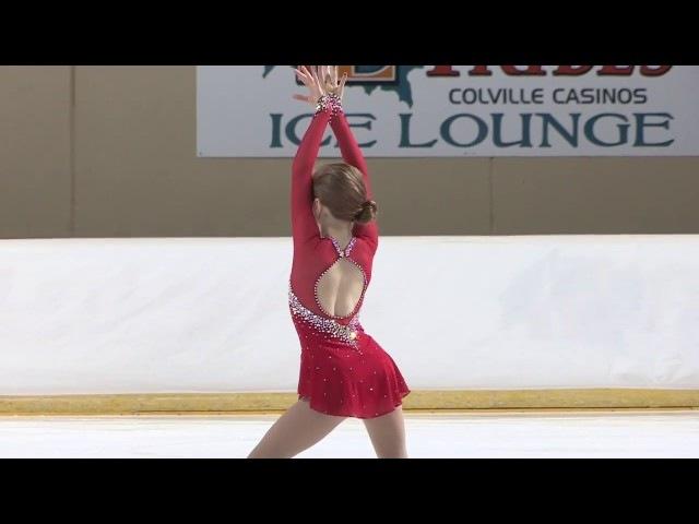 Allie's Preliminary Figure Skating Program Pacific Northwest Regionals 2017