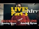 Analog Rytm Keys LIVE = Dataline Cuckoo 3:8