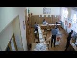УИК1479 гимназия №5 Люберцы 18 марта 2018 вброс 3