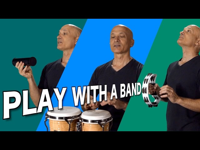 Play Percussion with a Band - Gospel More