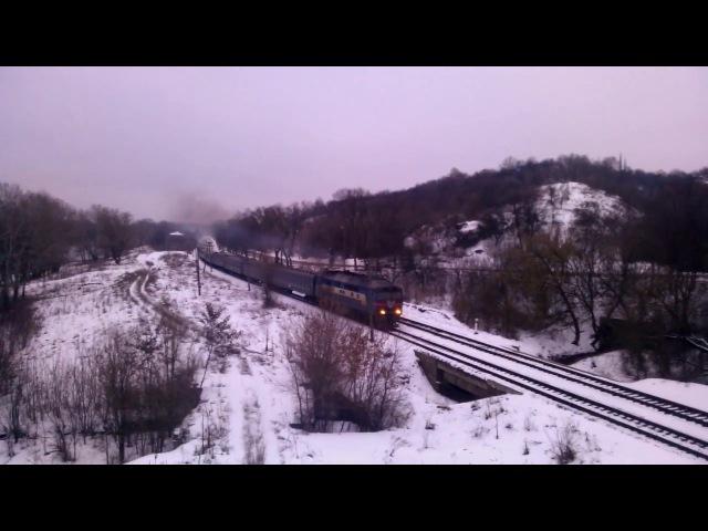 ТЭП70 - 0055 с п. 137/138 Лисичанск - Хмельницкий