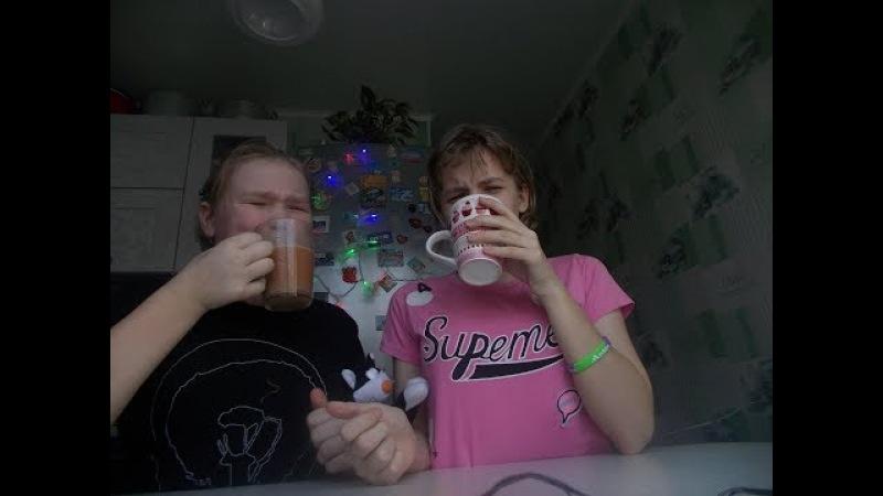смузи ЧЕЛЛЕНДЖ с подружкой/smoothie challenge