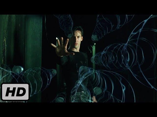 Нео останавливает пули. Матрица. (10/10) | 1999 | HD