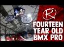 AMAZING 14 YEAR OLD BMX PRO | Dylan Hessey  insidebmx